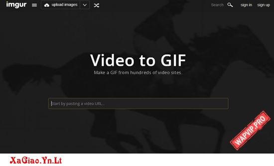 Cách tạo ảnh GIF từ video cực đơn giản