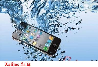 Điện thoại rớt vào nước phải làm sao?